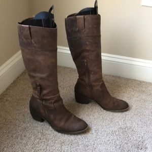 Naturalizer high leather boots.